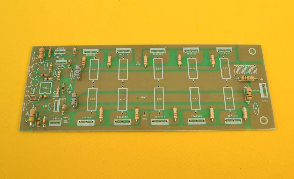 Circuito Impreso De Amplificador De 3000w : Proyectos electronicos diy ensamble un amplificador