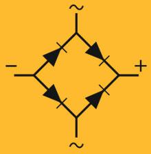 simbolo pente de diodos