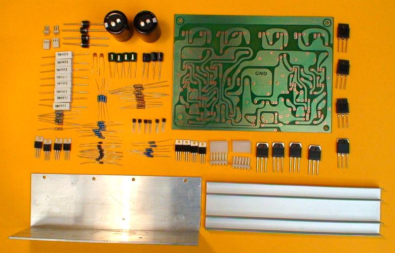 Circuito Impreso De Amplificador De 3000w : Construya un amplificador estereo de w